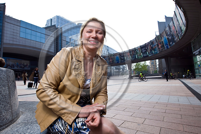 BRUSSELS - BELGIUM - 30 April 2014 -- Hannariikka NIEMINEN, Administrator - Committee on International Trade (INTA), the European Parliament. -- PHOTO: Juha ROININEN / EUP-IMAGES