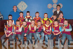 St Joseph's basketball team who were presented with medals in The Fr. Casey Club House Abbeyfeale on Saturday.