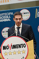 Andrea Giarrizzo<br /> <br /> Roma 29/01/2018. Presentazione dei candidati nelle liste uninominali del Movimento 5 Stelle.<br /> Rome January 29th 2018. Presentation of the candidates for Movement 5 Stars.<br /> Foto Samantha Zucchi Insidefoto