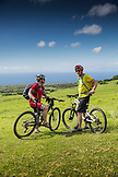 USA, Hawaii, The Big Island, mountain bike ride on pu'uhue rd trail off of road 250 South of Hapuna