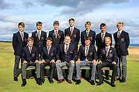 Team Wales during previews for the Boys' Home Internationals played at Royal Dornoch, Dornoch, Sutherland, Scotland. 06/08/2018<br /> Picture: Golffile | Phil Inglis<br /> <br /> All photo usage must carry mandatory copyright credit (&copy; Golffile | Phil Inglis)