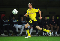 FUSSBALL   CHAMPIONS LEAGUE   SAISON 2011/2012  Borussia Dortmund - Arsenal London        13.09.2001 Lukasz PISZCZEK (Borussia Dortmund) Einzelaktion am Ball