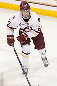 Julius Mattila (BC - 26) - The visiting Merrimack College Warriors defeated the Boston College Eagles 6 - 3 (EN) on Friday, February 10, 2017, at Kelley Rink in Conte Forum in Chestnut Hill, Massachusetts.