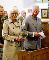 Prince Charles and Camilla on a Visit to Blisland