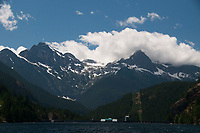 Ross Lake Resort, Ross Lake National Recreation Area, North Cascades National Park, US