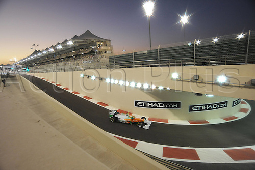 12.11.2011  Abu Dhabi, United Arab Emirates.  Yas Marina Circuit British Paul Tue Resta ON Force India  Formula 1 Grand Prix of Abu Dhabi, UAE.