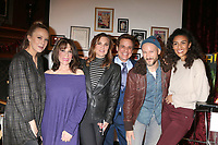 LOS ANGELES - FEB 20:  Melissa Ordway, Kate Linder, Gina TOgnoni, Christian LeBlanc, Michael Graziadei, Alice Hunter at the Melody Thomas Scott Celebrates 40 Years on Y&R Event at CBS Television City on February 20, 2019 in Los Angeles, CA