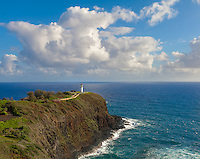 Kauai, Hawaii:  Kilauea Point Lighthouse at Kilauea National Wildlife Refuge on Kauai's north shore
