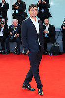 Riccardo Scamarcio attends the red carpet for the premiere of the movie 'Per Amor Vostro' during the 72nd Venice Film Festival at the Palazzo Del Cinema in Venice, Italy, September 11, 2015.<br /> UPDATE IMAGES PRESS/Stephen Richie