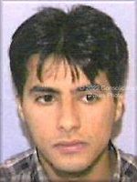 Washington, DC - September 26,  2001 -- Photo released by FBI of  Ahmed Alnami, one of the alleged hijackers of United Airlines Boeing 757 designated as Flight #93, from Newark to San Francisco.  The flight departed Newark at 8:42 AM on Tuesday, September 11, 2001 and crashed in Stony Creek Township, PA at 10:03 AM..Credit: FBI via CNP