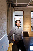 David Stein pictures: Executive portrait photography of David Stein, Founder and CEO of Rypple, by San Francisco corporate photographer Eric Millette