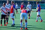 AMSTELVEEN - teleurstelling na het verlies bij Bas Appels (SCHC)   de hoofdklasse competitiewedstrijd hockey heren,  Amsterdam-SCHC (3-1).  COPYRIGHT KOEN SUYK