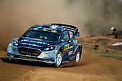 5th October 2017, Costa Daurada, Salou, Spain; FIA World Rally Championship, RallyRACC Catalunya, Spanish Rally; Ott Tanak of M-Sport WRT sliding in the shakedown