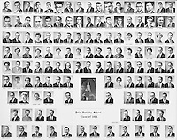 1964 Yale Divinity School Senior Portrait Class Group Photograph