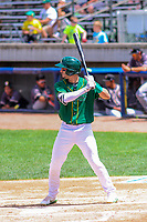 Beloit Snappers outfielder Luis Barrera (16) at the plate during a Midwest League game against the Quad Cities River Bandits on June 18, 2017 at Pohlman Field in Beloit, Wisconsin.  Quad Cities defeated Beloit 5-3. (Brad Krause/Four Seam Images)