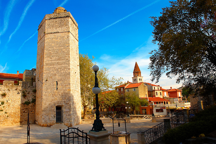 Medieval walls of Zadar, Croatia