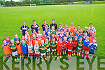 Cul Camp : Participants who took part in the Kellog's sponsored Cul Camp at Tarbert GAA grounds last week