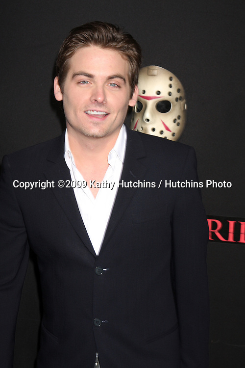 Kevin Zegers  arriving at the Friday the 13th 2009 Premiere at Mann's Village Theater in Los Angeles, CA on .February 9, 2009.©2009 Kathy Hutchins / Hutchins Photo..