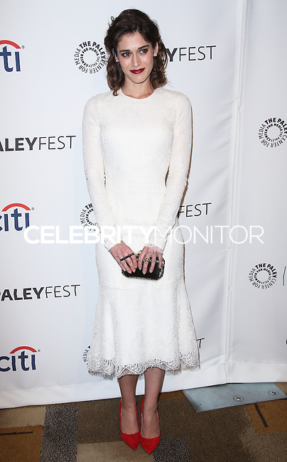 """HOLLYWOOD, LOS ANGELES, CA, USA - MARCH 24: Lizzy Caplan at the 2014 PaleyFest - """"Masters of Sex"""" held at Dolby Theatre on March 24, 2014 in Hollywood, Los Angeles, California, United States. (Photo by Celebrity Monitor)"""