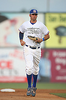 May 18 2009: Scott Van Slyke of the Inland Empire 66'ers during game against the Lake Elsinore Storm at Arrowhead Credit Union Park in San Bernardino,CA.  Photo by Larry Goren/Four Seam Images