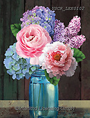 ,FLOWERS, BLUMEN, FLORES, paintings+++++,USCRLEE0102,#f#, EVERYDAY