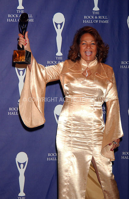 WWW.ACEPIXS.COM . . . . .....March 12 2007, New York City....Honoree Nedra Talley of The Ronettes in the press room at the 22nd annual Rock And Roll Hall Of Fame Induction Ceremony at the Waldorf Astoria Hotel..  ....Please byline: Kristin Callahan - ACEPIXS.COM..... *** ***..Ace Pictures, Inc:  ..Philip Vaughan (646) 769 0430..e-mail: info@acepixs.com..web: http://www.acepixs.com