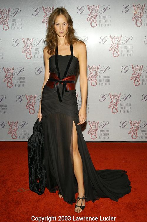 Ines Rivero in a dress by Carolina Herrera