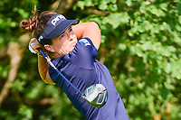 Joanna Klatten (FRA) watches her tee shot on 11 during Friday's round 2 of the 2017 KPMG Women's PGA Championship, at Olympia Fields Country Club, Olympia Fields, Illinois. 6/30/2017.<br /> Picture: Golffile | Ken Murray<br /> <br /> <br /> All photo usage must carry mandatory copyright credit (&copy; Golffile | Ken Murray)