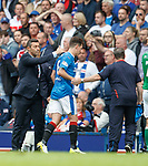 Pedro Caixinha commiserates with Ryan Jack