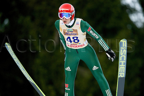 13.12.2013 Titisee-Neustadt Germany. Mens World Cup Ski-Jumping Training and Qualification. GEIGER Karl (GER)
