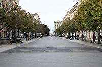 General view of Cours du Chapeau-Rouge, Bordeaux, Nouvelle-Aquitaine, France on 16.10.19.