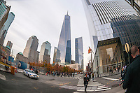 New York, NY the World Trade Center ( Freedom Tower) in ower Manhattan
