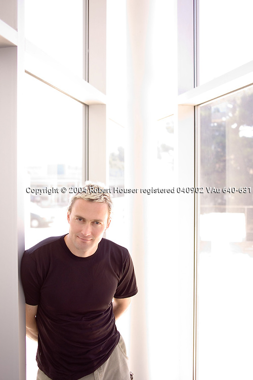Steven Hofmeyr, Ph.D. - founder and Chief Scientist - Sana Security: Executive portrait photographs by San Francisco - corporate and annual report - photographer Robert Houser.