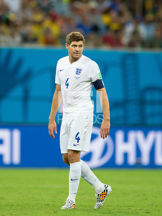 Steven Gerrard of England