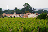 Chateau La Tour du Pin Figeac Moueix and vineyard Saint Emilion Bordeaux Gironde Aquitaine France