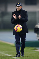 Chievo Verona's coach Domenico Di Carlo gestures during the Serie A 2018/2019 football match between Chievo Verona and Inter at stadio Bentegodi, Verona, December 22, 2018 <br />  Foto Daniele Buffa / Image Sport / Insidefoto