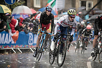 Adam Yates (GBR/Mitchelton-Scott)<br /> <br /> Elite Men Road Race from Leeds to Harrogate (shortened to 262km)<br /> 2019 UCI Road World Championships Yorkshire (GBR)<br /> <br /> ©kramon