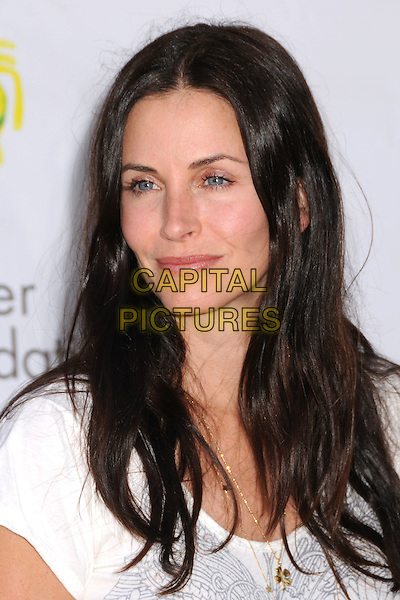 "COURTENEY COX ARQUETTE .""A Time For Heroes"" Celebrity Carnival Benefit for the Elizabeth Glaser Pediatric AIDS Foundation at the Wadsworth Fairgrounds, Los Angeles, California, USA..June 8th, 2008.headshot portrait courtney .CAP/ADM/BP.©Byron Purvis/AdMedia/Capital Pictures."