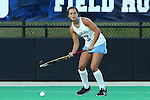 17 October 2014: North Carolina's Kristy Bernatchez. The Duke University Blue Devils hosted the University of North Carolina Tar Heels at Jack Katz Stadium in Durham, North Carolina in a 2014 NCAA Division I Field Hockey match. UNC won the game 1-0.