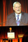 Edward Manley, President of Making Headway Foundation, speaks at the Holly's Angels .gala at Cipriani in New York City.   The benefit honored the memory of  Holly Lind. Making Headway provides medical and social services for pediatric brain and spinal chord cancer patients and their families.