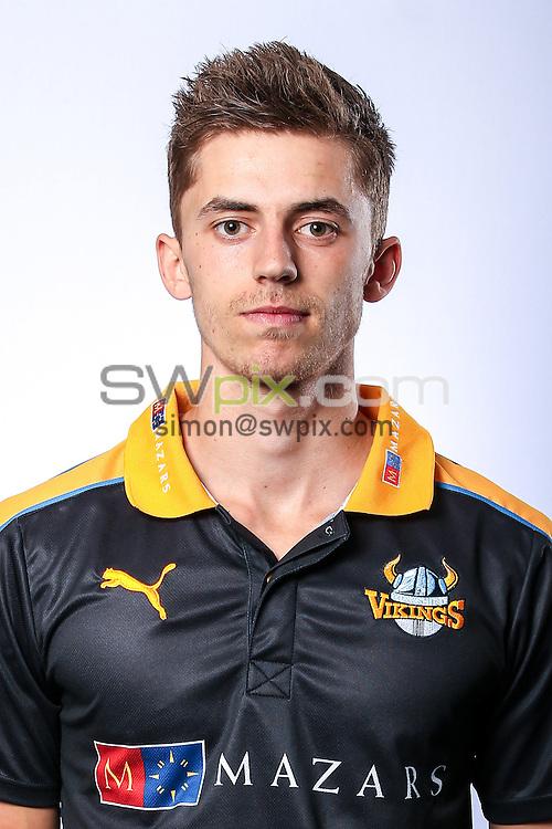 Picture by Alex Whitehead/SWpix.com - 03/04/2015 - Cricket - Yorkshire CCC Headshots - Headingley Stadium, Leeds, England - Yorkshire's Ben Coad