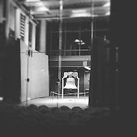 The Liberty Bell, illuminated at night, in Philadelphia, Pennsylvania on October 24, 2015.