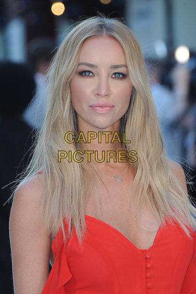 LONDON, ENGLAND - JUNE 30: Lauren Pope attends the European Premiere of Magic Mike XXL at Vue West End on June 30, 2015 in London, England.<br /> CAP/BEL<br /> &copy;Tom Belcher/Capital Pictures