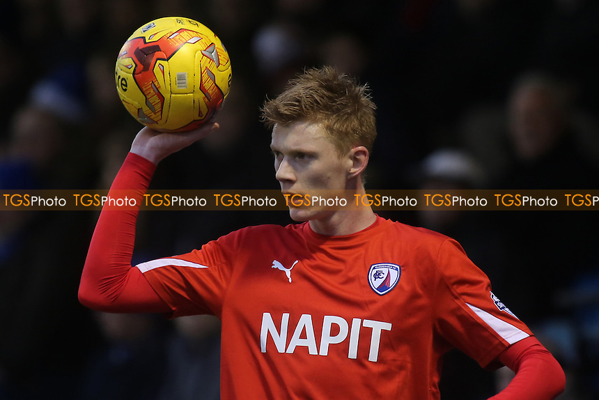 Sam Clucas, scorer of Chesterfield's opening goal - Gillingham vs Chesterfield - Sky Bet League One Football at Priestfield Stadium, Gillingham, Kent - 20/12/14 - MANDATORY CREDIT: Paul Dennis/TGSPHOTO - Self billing applies where appropriate - contact@tgsphoto.co.uk - NO UNPAID USE