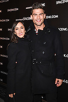 Janette Manrara and Aljaz Skorjanec<br /> at the opening of the 'Innovation by Space NK' store on Regent's Street, London.<br /> <br /> <br /> ©Ash Knotek  D3196  10/11/2016
