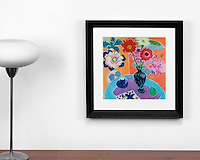 """Majoli: Still Life, Digital Print, , Framed Dims. Black, Off White Mat, <br /> Artist:<br /> In House Rentals: Contemporary<br /> Reference #<br /> 2526_015_01dp<br /> Title<br /> Majoli: Still Life<br /> Dims.<br /> 18.5"""" x 18.5"""" x 1.5"""" <br /> Frame:<br /> Black, Off White Mat <br /> Medium:<br /> Digital Print <br /> Price<br /> Available upon request"""