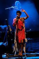 Melody Gardot in concert .July 19, 2012. (ALTERPHOTOS/Ricky) (ALTERPHOTOS/Acero/*NORTEPHOTO*)