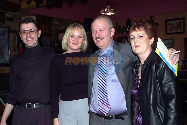 Christie smith and family.see Jim McCullen for captions..Picture Fran Caffrey Newsfile.