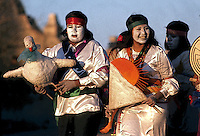 TOHONO OoDHAM INDIANS SUNRISE DANCE