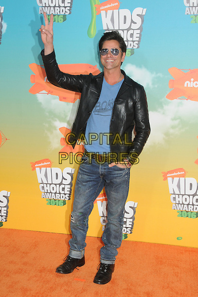 12 March 2016 - Inglewood, California - John Stamos. 2016 Nickelodeon Kids' Choice Awards held at The Forum.  <br /> CAP/ADM/BP<br /> &copy;BP/ADM/Capital Pictures